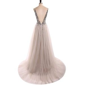 Dresses - Beautiful Tulle Dress with Sequin Top